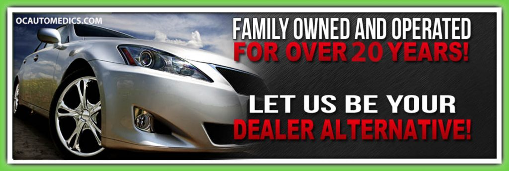 Dealer Alternative Auto Repair and Service Center in Rancho Santa Margarita